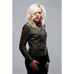 Sassy Jacket Leather Women Side View